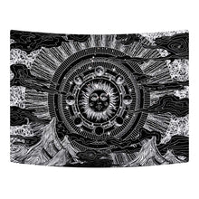 Load image into Gallery viewer, Sun Eclipse Tapestry - Tapestry Girls