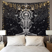Load image into Gallery viewer, Sun Skull Tapestry - Tapestry Girls