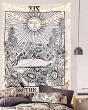 Load image into Gallery viewer, Tarot Sun Tapestry - Tapestry Girls