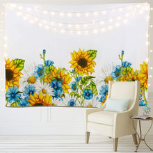 Load image into Gallery viewer, Sunflower Blue Tapestry - Tapestry Girls