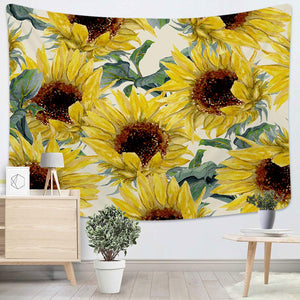 Sunflower Tapestry - Tapestry Girls