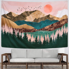 Load image into Gallery viewer, Sunset Mountain Tapestry - Tapestry Girls