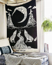 Load image into Gallery viewer, Tarot Moon Tapestry - Tapestry Girls
