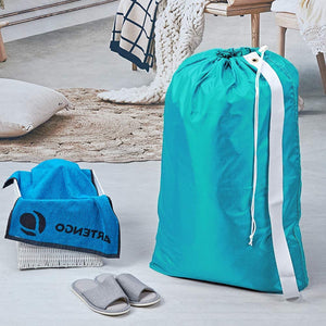 Teal Strap Laundry Bag - Tapestry Girls
