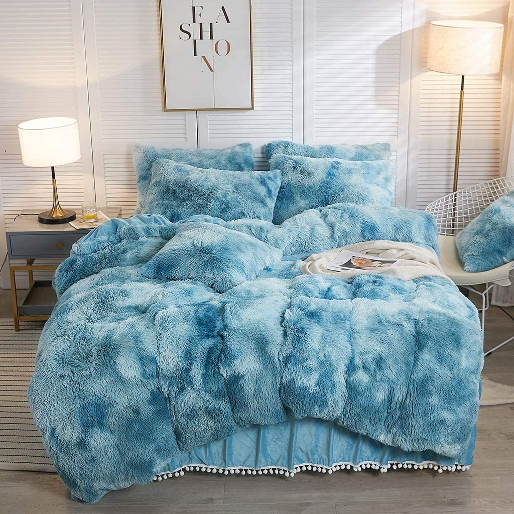 Softy Teal Bed Set Tapestry Girls