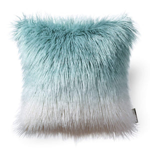 Fluffy Teal Pillows - Tapestry Girls