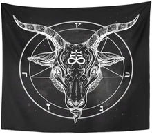 Load image into Gallery viewer, The Baphomet Tapestry - Tapestry Girls