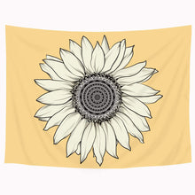 Load image into Gallery viewer, The Yellow Sunflower Tapestry - Tapestry Girls