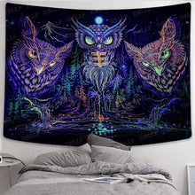 Load image into Gallery viewer, The Three Owl Tapestry - Tapestry Girls