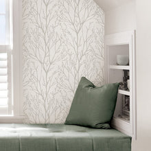 Load image into Gallery viewer, White Treetops Removable Wallpaper - Tapestry Girls