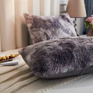 Softy Marble Gray Pillows - Tapestry Girls