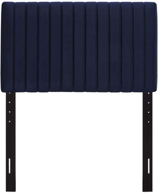 Velvet Navy Headboard - Tapestry Girls
