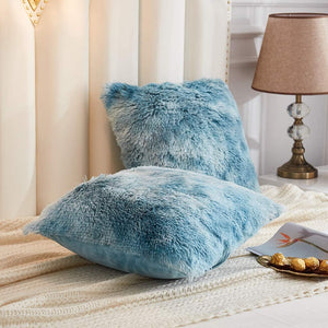 Softy Teal Pillows - Tapestry Girls