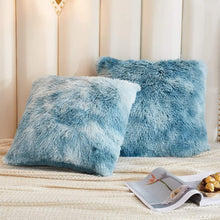 Load image into Gallery viewer, Softy Teal Pillows - Tapestry Girls