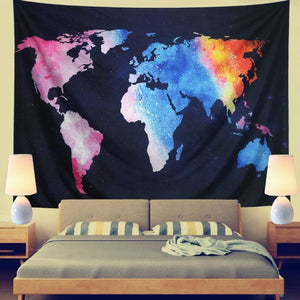 Vibrant World Tapestry - Tapestry Girls