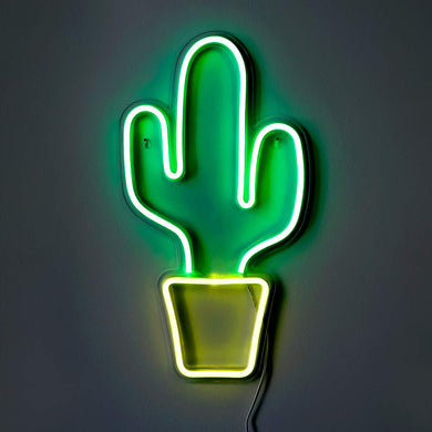 Cactus Neon Sign - Tapestry Girls