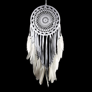 White Boho Dreamcatcher - Tapestry Girls
