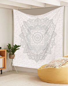 White Ombre Tapestry - Tapestry Girls