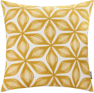 Yellow Rhombus Pillow - Tapestry Girls