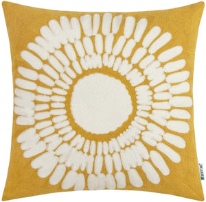 Yellow Sunflower Pillow - Tapestry Girls