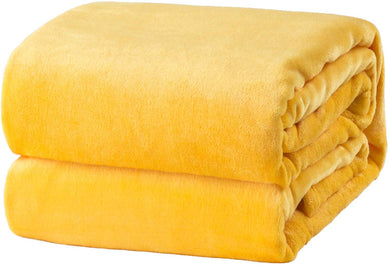 Yellow Fleece Blanket - Tapestry Girls