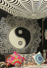Load image into Gallery viewer, Yin Yang Mandala Tapestry - Tapestry Girls