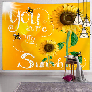 You Are My Sunshine Tapestry - Tapestry Girls