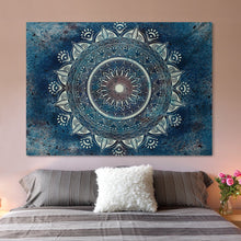 Load image into Gallery viewer, Zen Blue Tapestry - Tapestry Girls