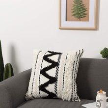 Load image into Gallery viewer, Boho Zig Zag Tufted Pillows
