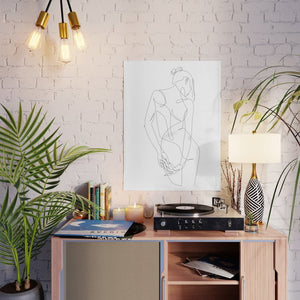 Ligature Art Poster - Tapestry Girls