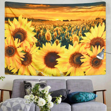 Load image into Gallery viewer, The Sunflower Field Tapestry - Tapestry Girls