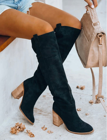 Saint Slouch Boot Black