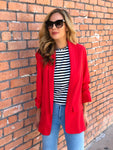Red Hot Boyfriend Blazer