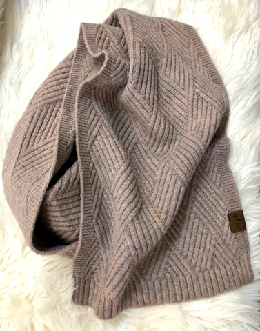 Taupe CC Scarf
