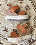 Dimmer Brown Wedges
