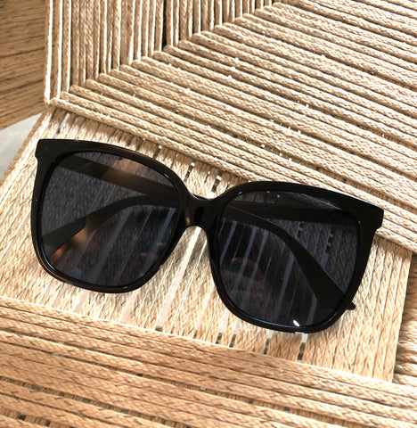 Black Basic Babe Sunglasses