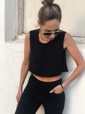 Double Edged Crop Top