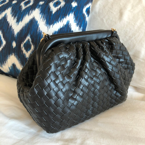 Luxury Inspired Black Purse