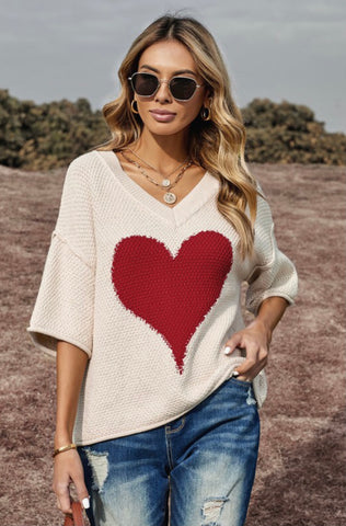 Heart of Hearts Sweater