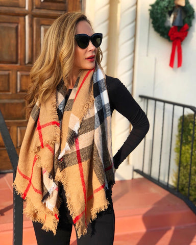 Oversized Luxe Scarf