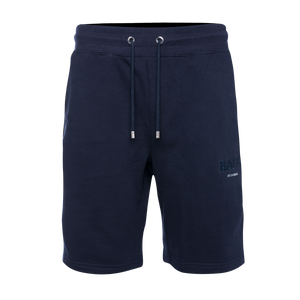 Embroidered LOAB Shorts Navy