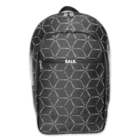 LOAB ALL-OVER PRINT BACKPACK BLACK