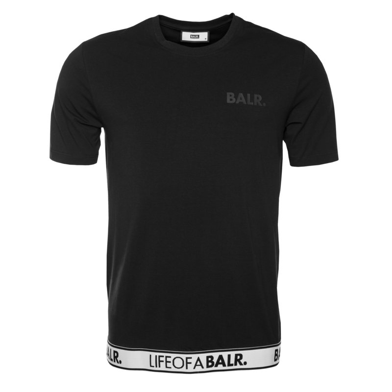 LOAB LOUNGE STRAIGHT T-SHIRT BLACK