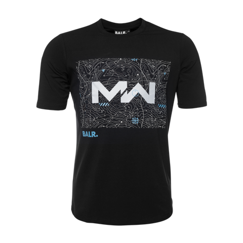 BALR. X CALL OF DUTY: MODERN WARFARE T-SHIRT BLACK