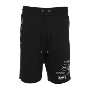 BALR. Badge Shorts Black