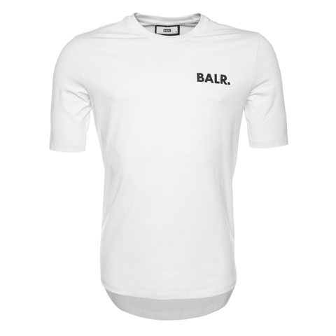 LOAB CONTRAST ATHLETIC T-SHIRT WHITE