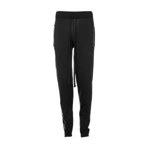 Brand Tape Sweatpants Black
