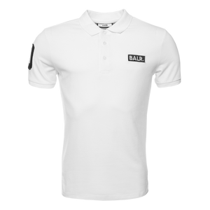 BALR. Club 10 Polo Shirt White