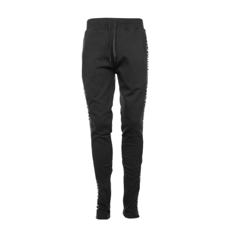 LIFEOFABALR. Tape Sweatpants Black