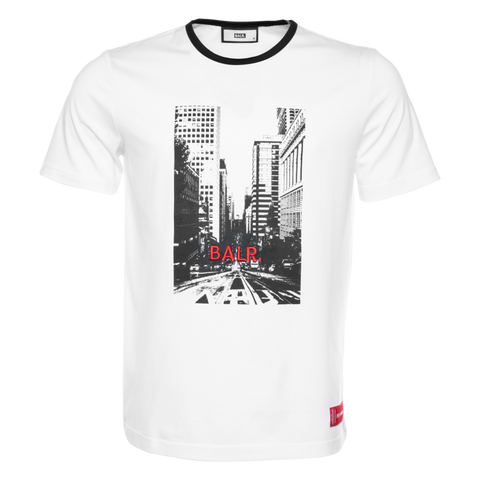 BALR. CITY LIFE T-SHIRT WHITE